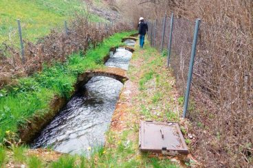 Water channel monitoring
